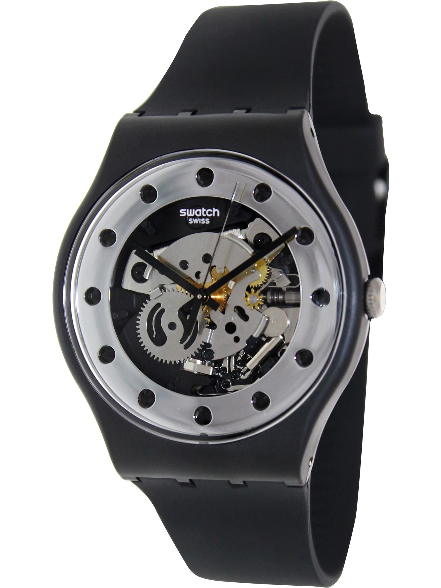 Swatch Silver Glam Unisex Watch SUOZ147