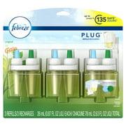 Febreze Plug Scented Oil Refill with Gain Scent, Original, 3 count