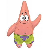 Spongebob Squarepants Patrick Jumbo Mylar Balloon Supershape (BLUE/GREEN, 1)