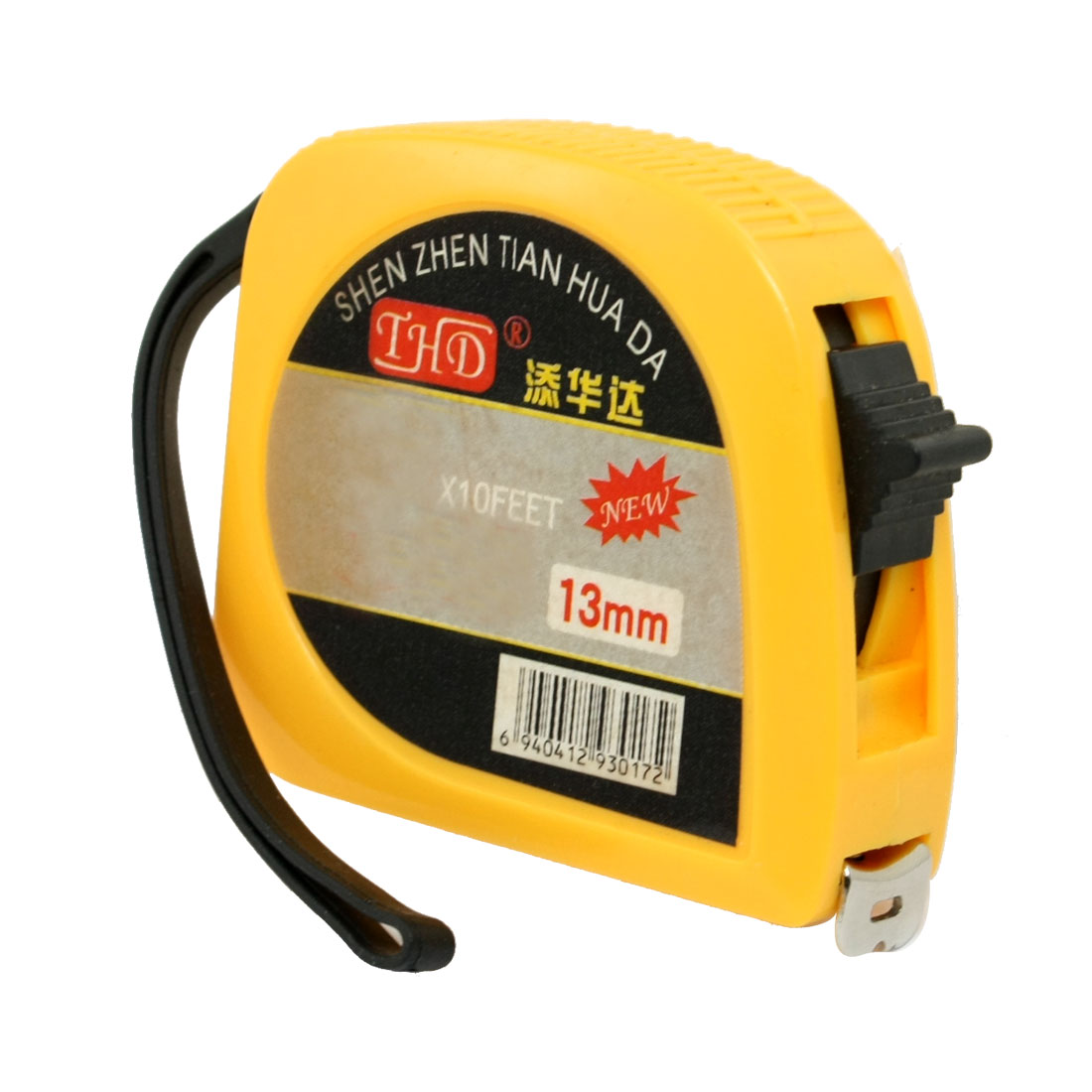 Portable Locking Tape Measure 9.8 Feet 3 Meters 118 inch w Strap