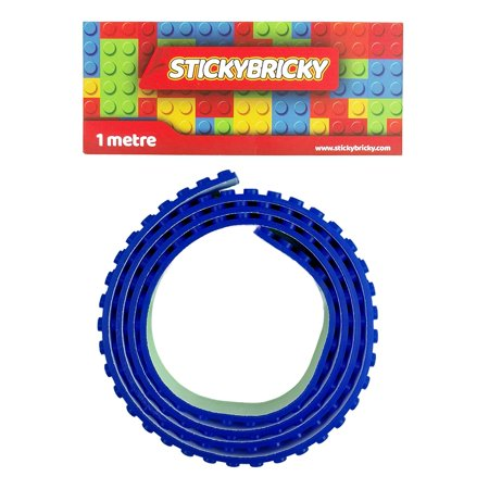 Sticky Bricky Lego Tape Blue Walmartcom