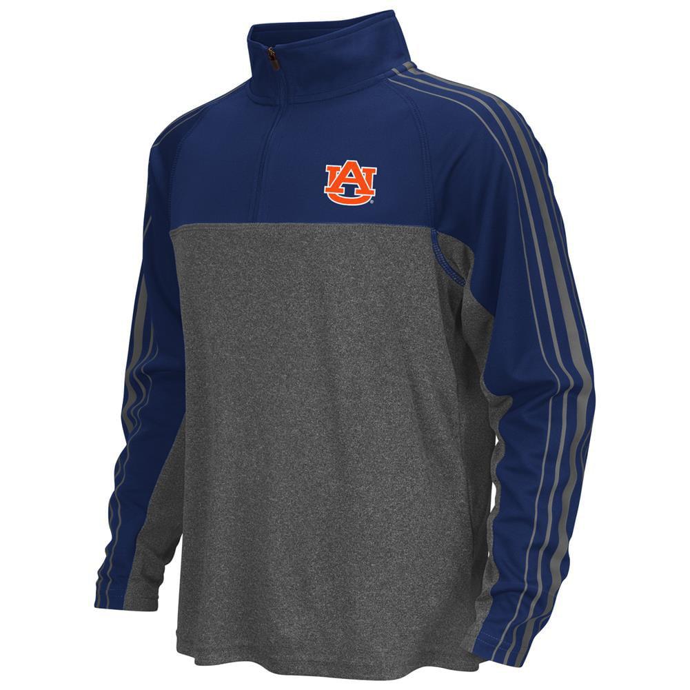 Auburn University Tigers Boy's Quarter Zip Long Sleeve Windshirt