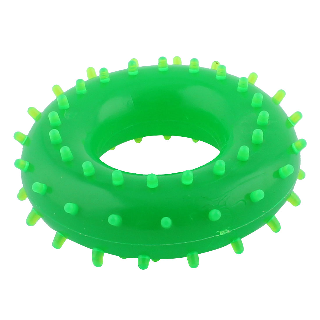 Exercise Sports Rubber Elastic Hand Strength Gripper Training Massage Ring Green