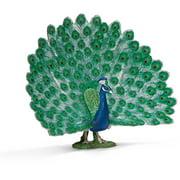 Schleich Peacock Figurine