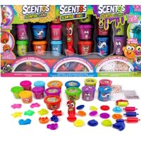 Scentos Scented Compound 45+ Piece Value Pack with Sand, Dough & Slime