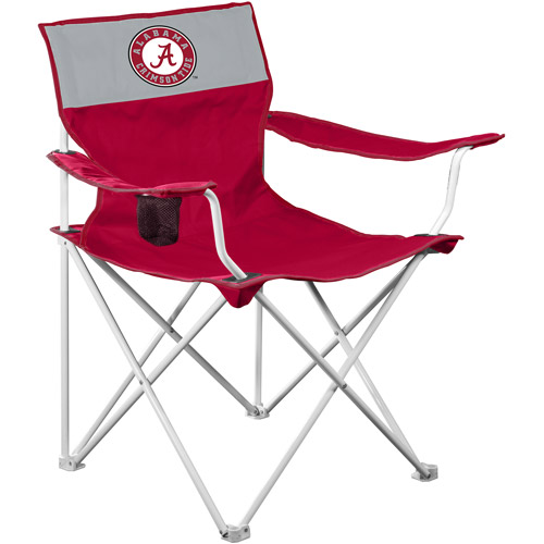 Logo Chairs Collegiate Canvas Chair   Alabama