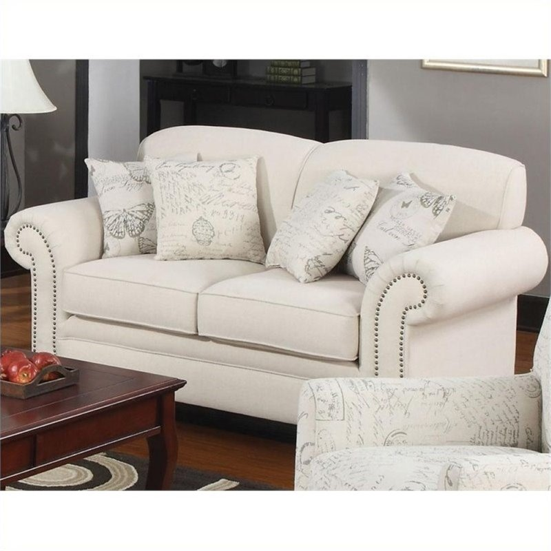 Bowery Hill Loveseat in Oatmeal