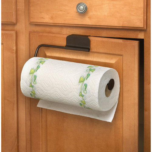 over the cabinet paper towel holder spectrum diversified the cabinet paper towel 24190