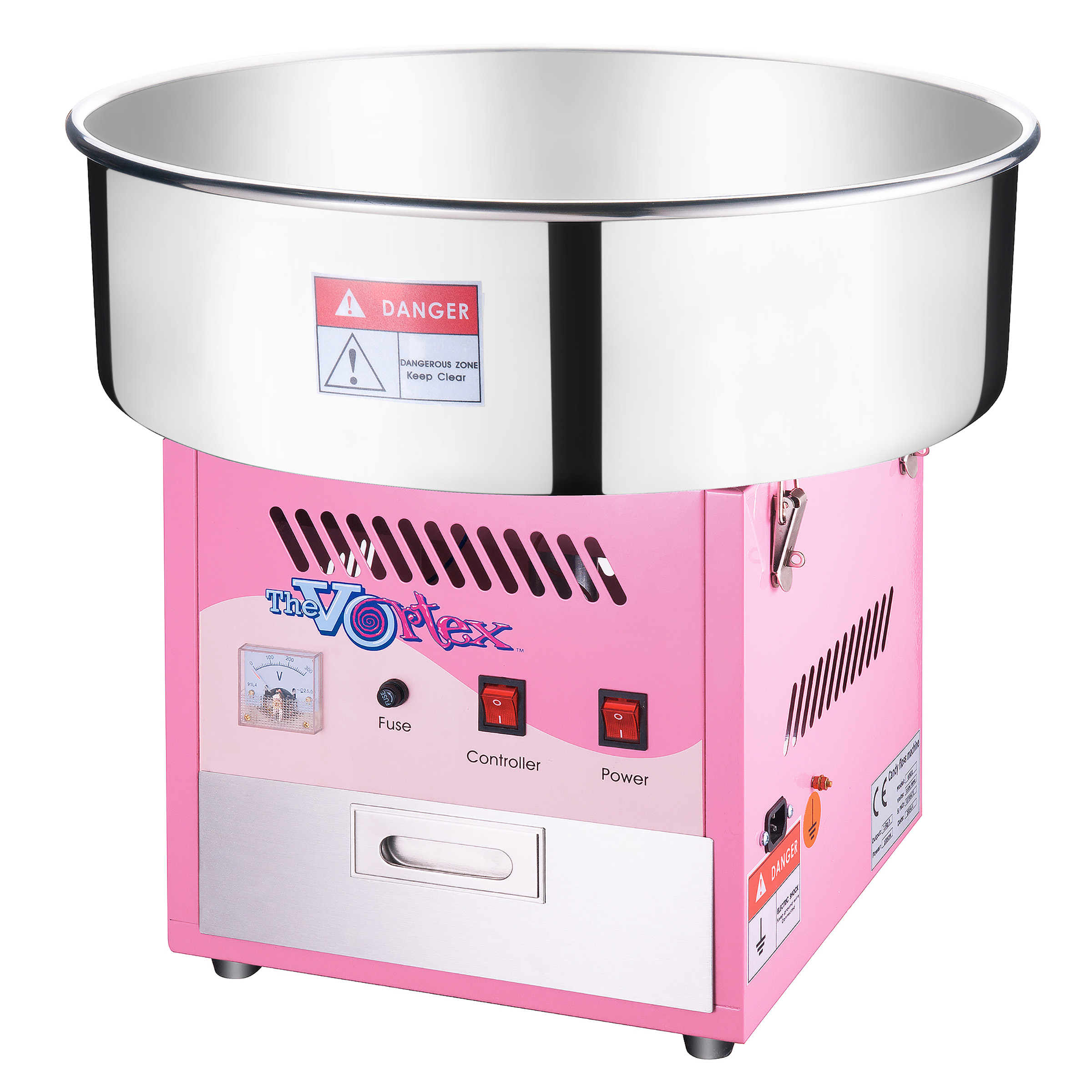 Commercial Quality Cotton Candy Machine and Electric Candy Floss Maker by Great Northern Popcorn