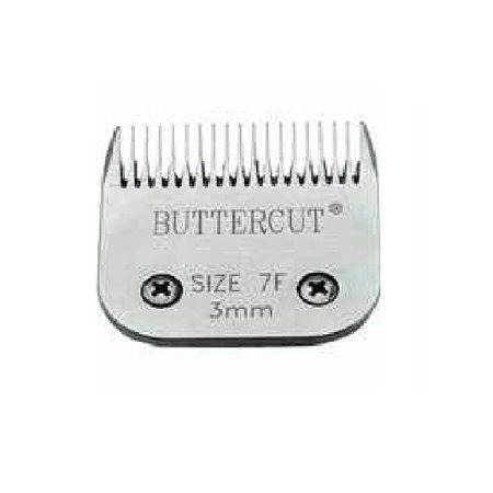 Geib Stainless Steel Buttercut Grooming Blades High Quality Durable Ultra Sharp (# 7F = 1/8
