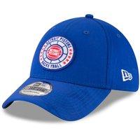 Detroit Pistons New Era 2018 Tip Off Series 39THIRTY Flex Hat - Blue