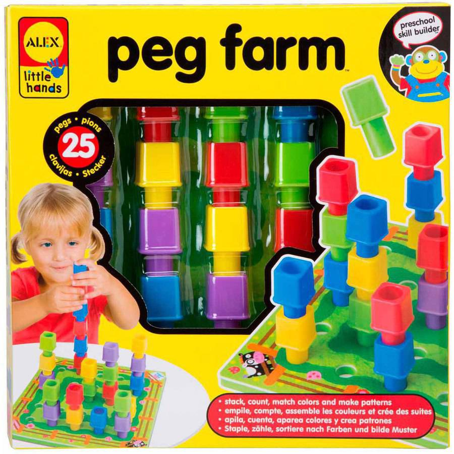 ALEX Toys Early Learning Peg Farm