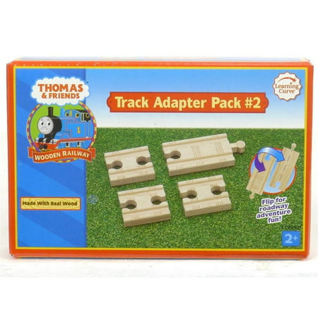 Thomas & Friends Wooden Railway Track Adapter Pack # (Thomas Wooden Railway Track Layouts)