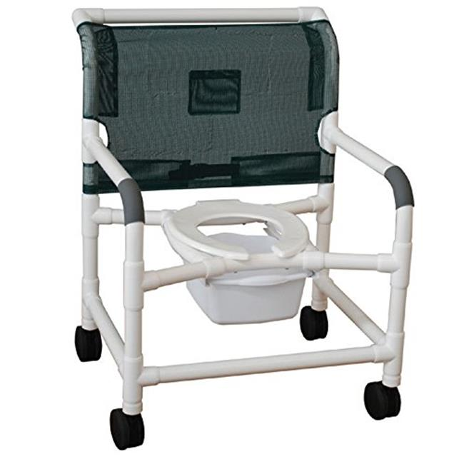 MJM International 126-LP-NB Extra-wide shower chair 26 in.
