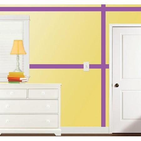 Violet Simple Stripes - image 2 of 2