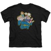 Family Guy Family Fight Big Boys Short Sleeve Shirt