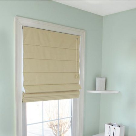 Lewis hyman fabric thermal roman shade in latte for Thermal windows prices