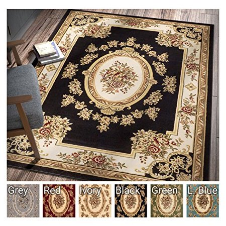Past Medallion Black French European Formal Traditional 8x11 8x10 7 10 X