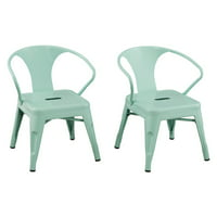 Reservation Seating Kids Chair 2pk, Multiple Colors