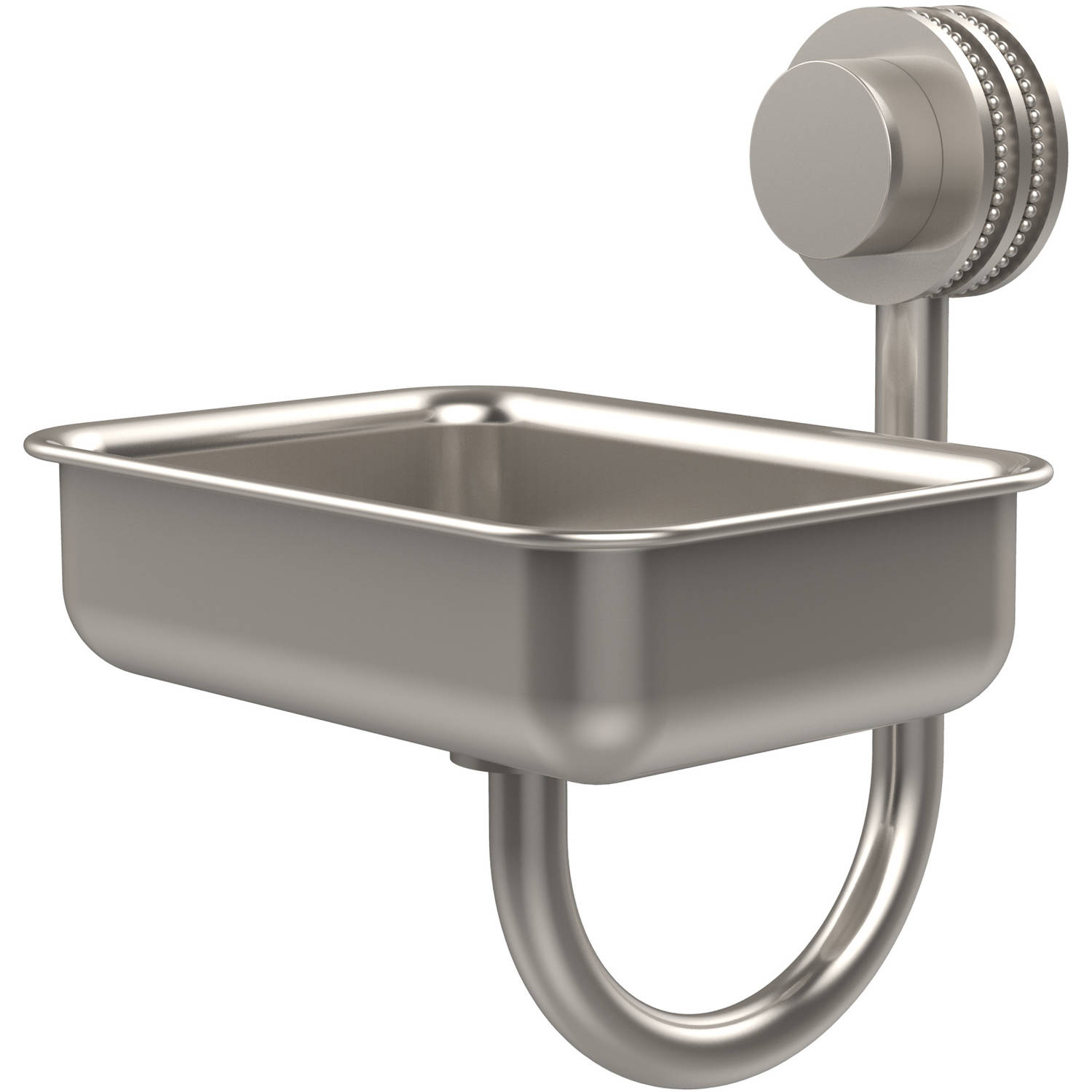 Venus Collection Wall-Mounted Soap Dish with Dotted Accents (Build to Order)