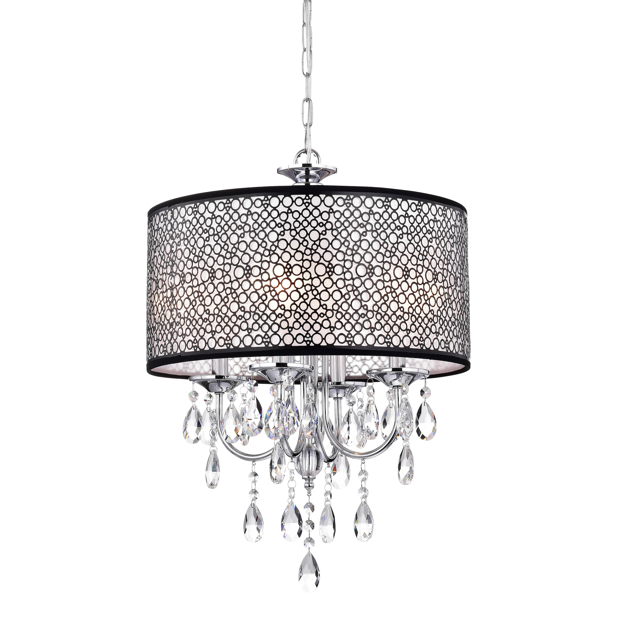 Greenville Mineva 4-light Drum Chandelier