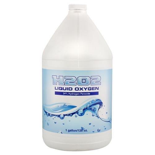 H2O2 Liquid Oxygen 34% Gallon