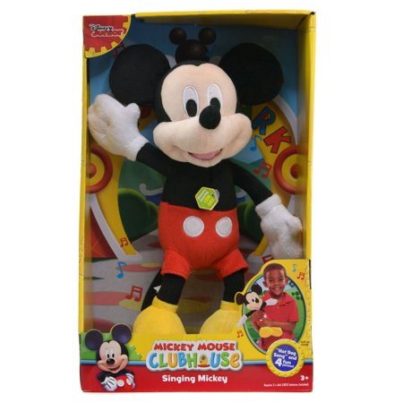 Mickey Mouse Dog (Disney Mickey ?Hot Dog Song? 12? Singing Plush)