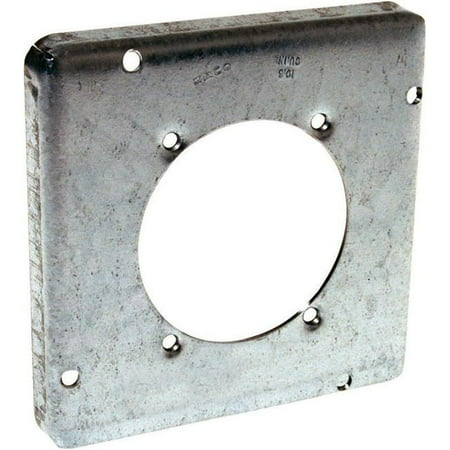 Hubbell Electrical Products 888 4.69 in. 30-16 Square Receptacle Cover - image 1 de 1