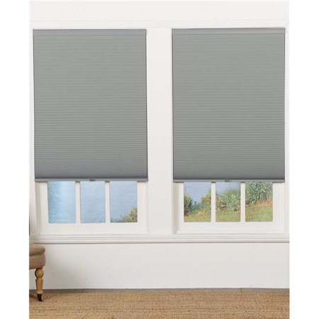 Safe Styles UBE605X64GR Cordless Blackout Cellular Shade, Gray - 60.5 x 64 in. - image 1 of 1
