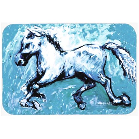 Shadow The Horse In Blue Kitchen Or Bath Mat 20 x 30 In. - image 1 of 1
