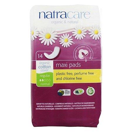 Natracare Organic Maternity Pads Natural - Natracare Natural Organic Maxi Pads, Regular, 14 Ct