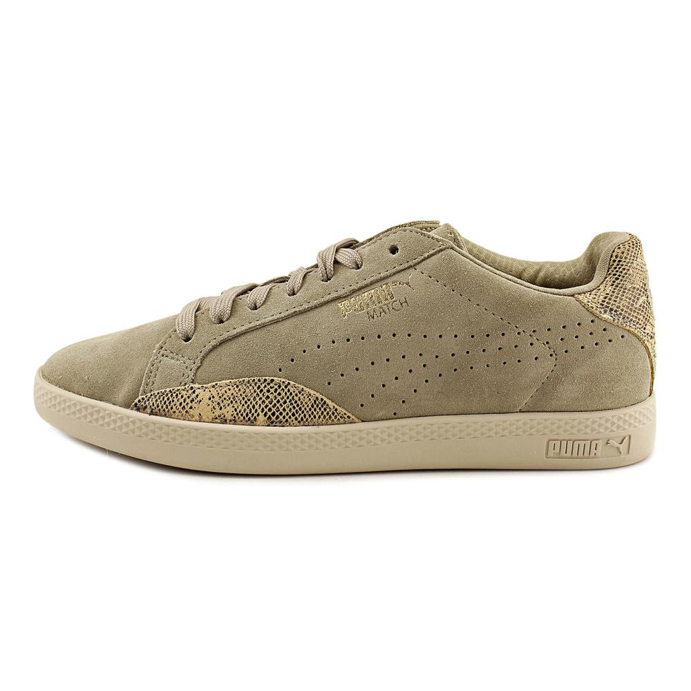 Puma Match Lo  Round Toe Sneakers Shoes