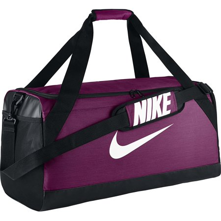 Nike Brasilia Medium Training Duffel Bag Purple