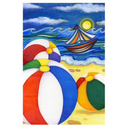 Toland Home Garden Beach Balls - Flag Beach Ball