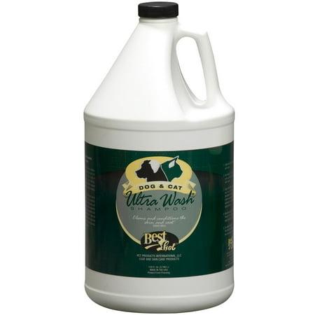 Best Shot Ultra Wash Pet Shampoo Gallon