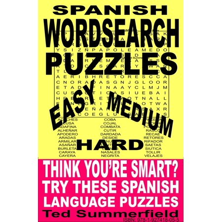 Spanish Word Search Puzzles - eBook ()