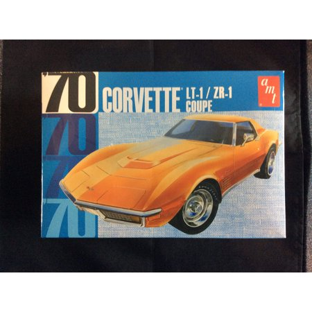 AMT 1097 1:25 Scale Model Kit - 1970 Corvette LT-1 / ZR-1 COUPE 1 700 Scale Model Ships