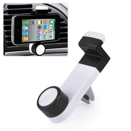 Car Mount AC Air Vent Holder Rotating Cradle Dock Airvent Stand Strong Grip OZB for iPhone 8 PLUS X, Ipod Touch 1st Gen 2nd Gen 3rd Gen 4th Gen 5 - Google Pixel 2 XL - Huawei Mate 10 - LG