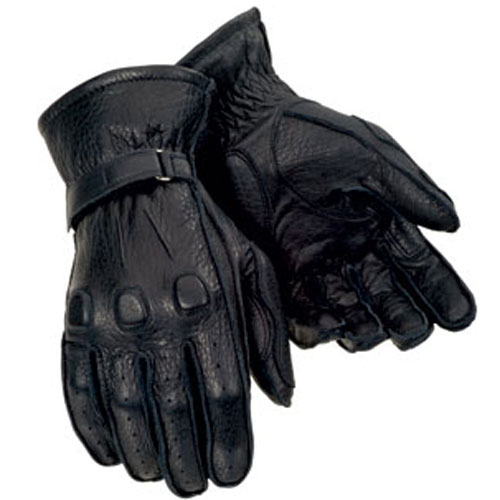 Tourmaster Deerskin Gloves Black