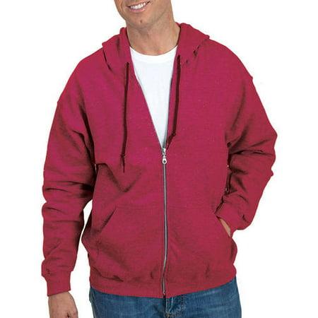 6522c052 Gildan - Gildan Men's Full Zip Hooded Sweatshirt - Walmart.com