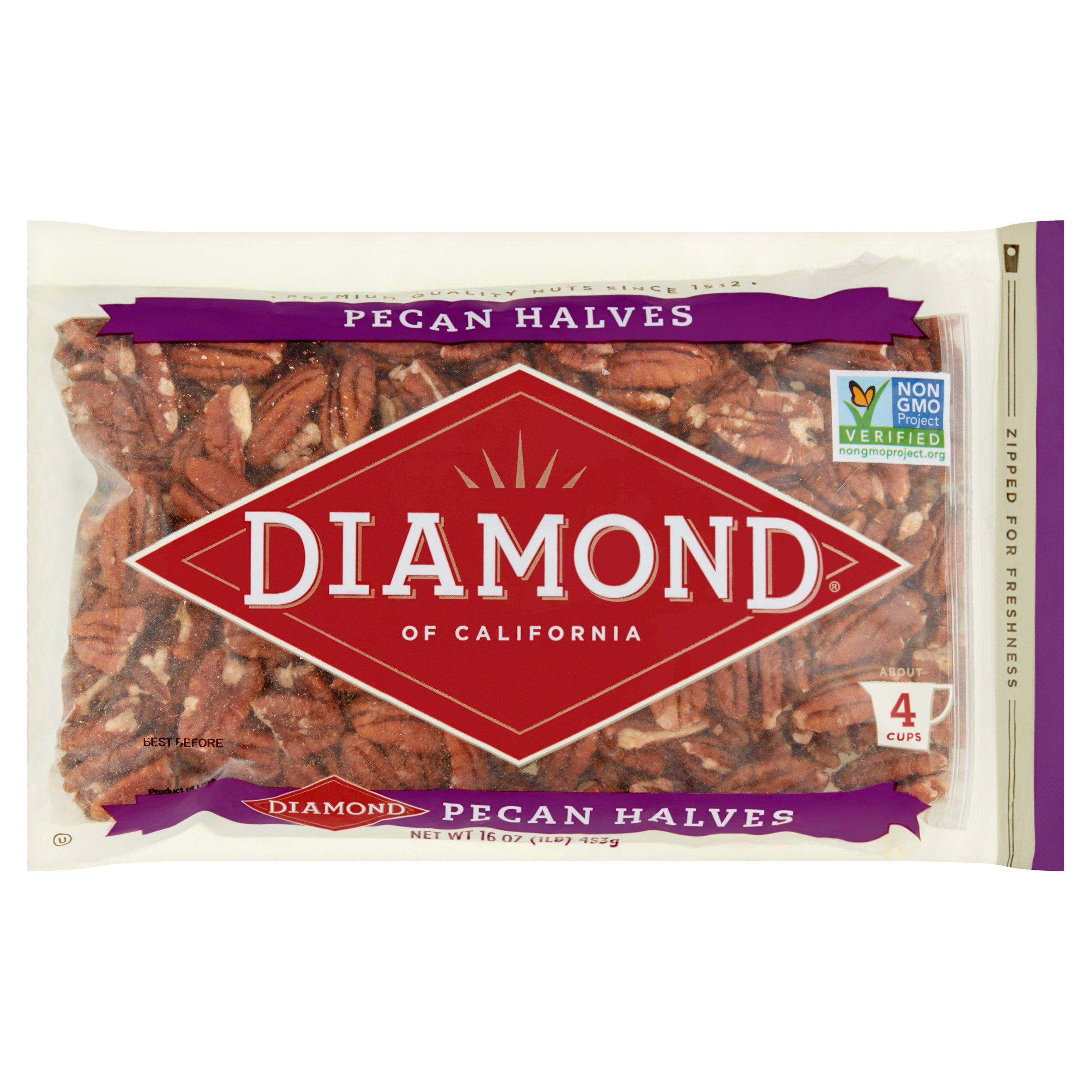 Diamond of California Pecan Halves, 16.0 OZ by Diamond Foods, Inc.