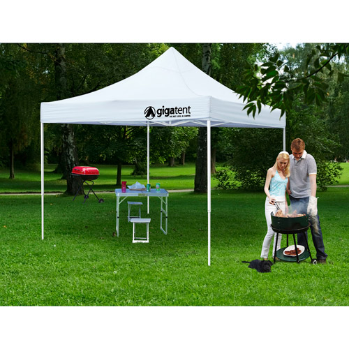 GigaTent Classic 10' x 10' Canopy, White