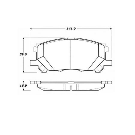 Go-Parts OE Replacement for 2004-2006 Lexus RX330 Front