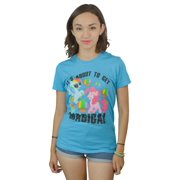 My Little Pony It's About to Get Magical Women's Blue T-shirt NEW Size S