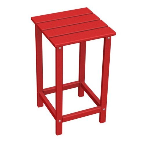 POLYWOOD® Long Island Recycled Plastic 26 in. Outdoor Side Table