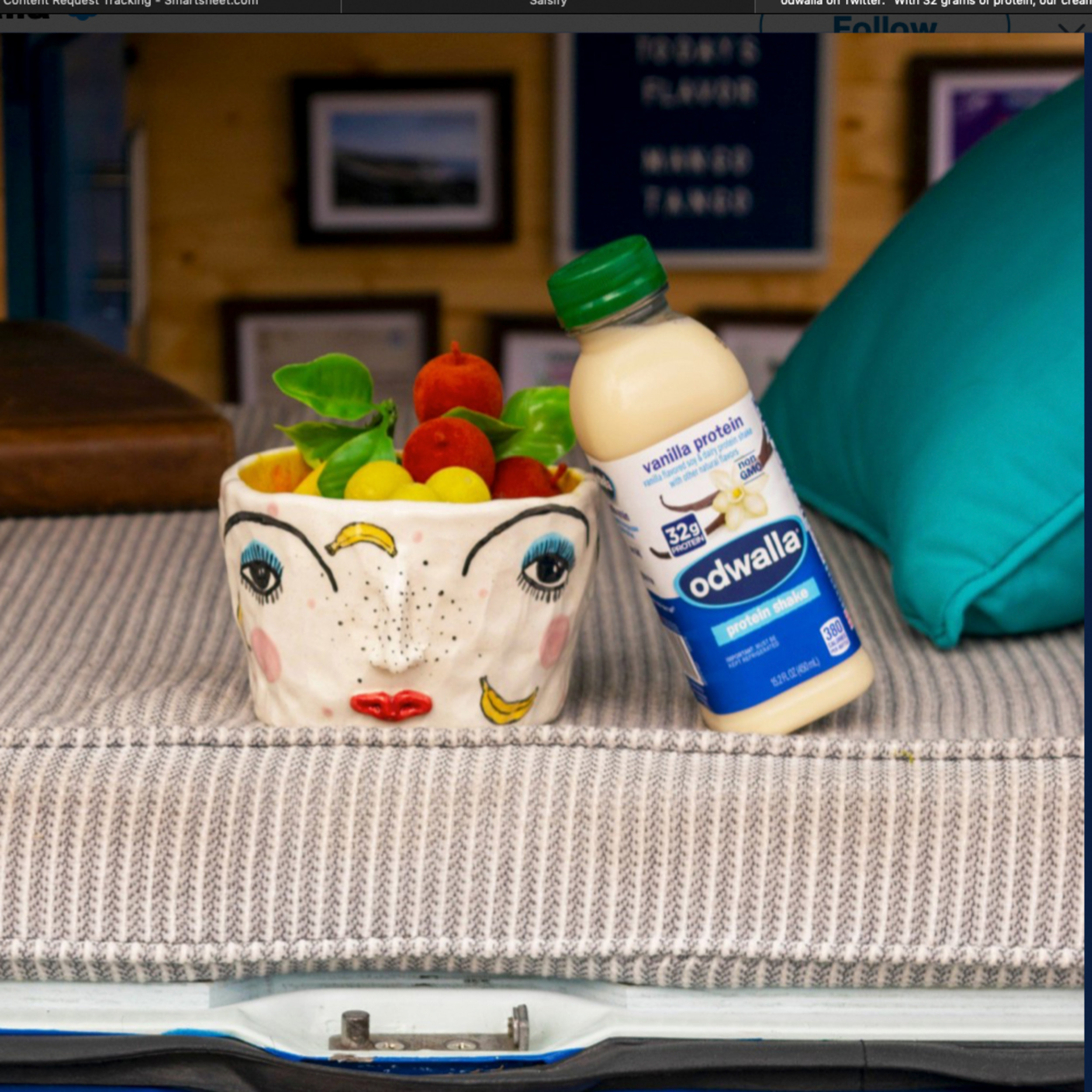 Odwalla Vanilla Protein Shake Drink 15 2 Fl Oz Walmart Com Walmart Com