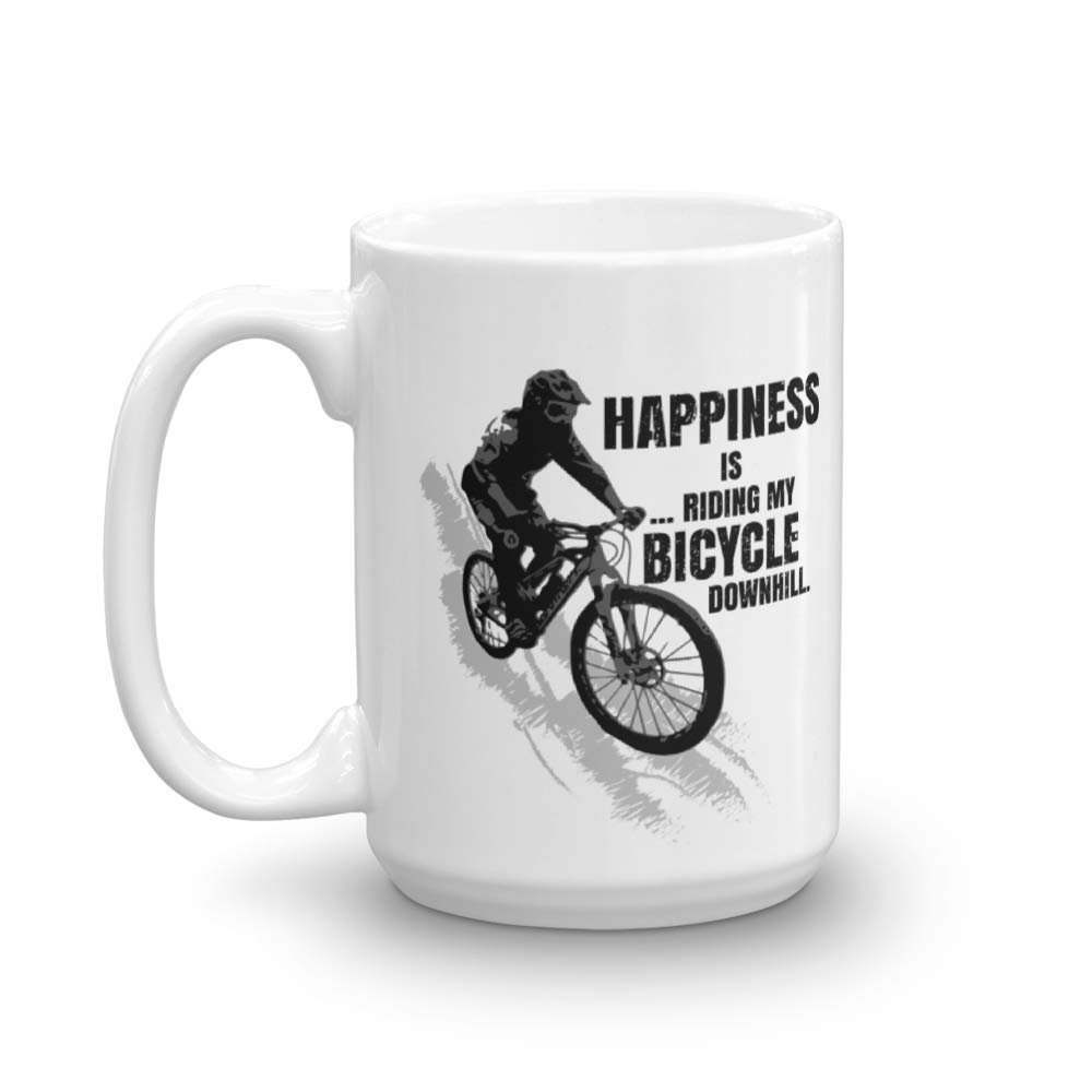 Happiness Is Riding My Bicycle Downhill