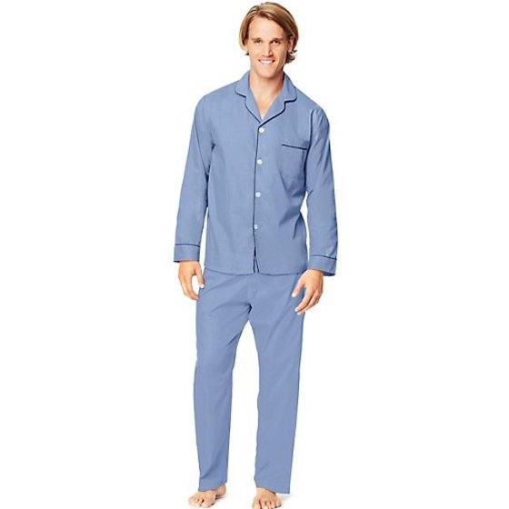 Hanes - Hanes Men s Woven Pajama Set - Walmart.com ed601ede1