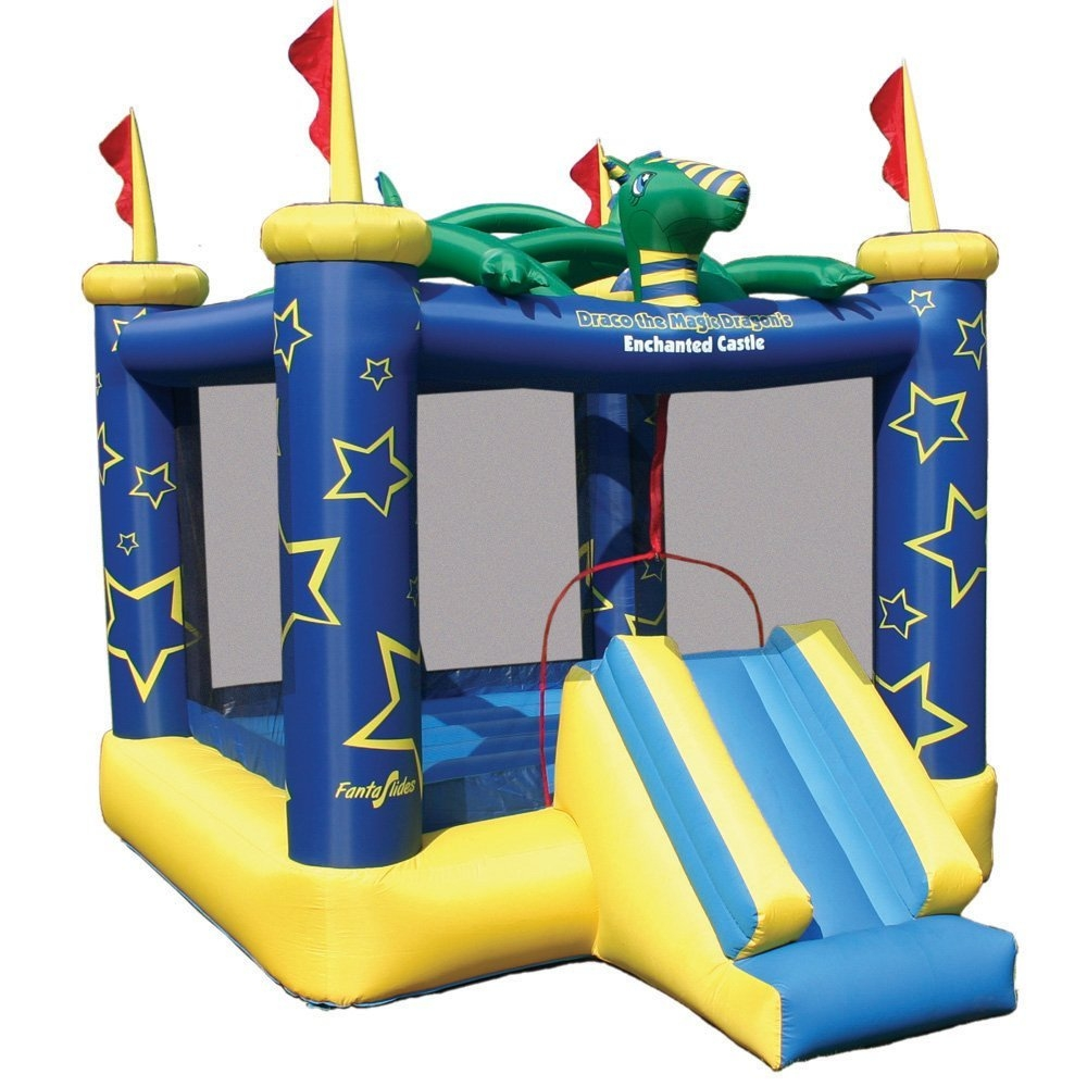 Kidwise Draco The Magic Dragon Inflatable Bouncing Castle...