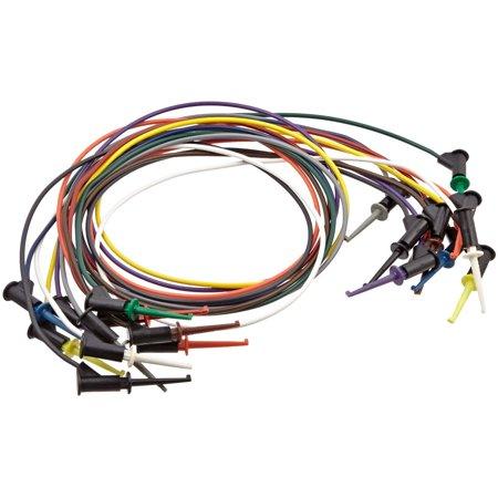 Pomona 5525 MicroGrabber Test Clip Patch Cord Kit